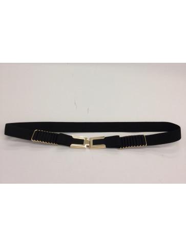 Elastic black belt