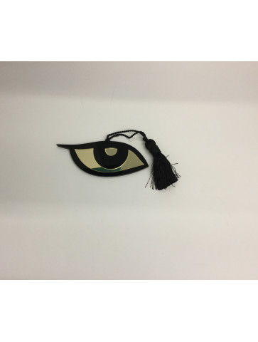 Gold-black plexiglass Eye