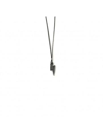 Lightning Plexiglass Necklace.
