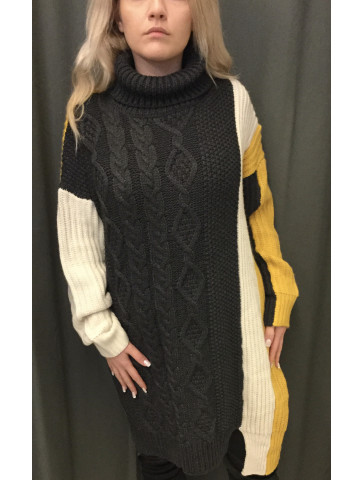 Knitted Blouse - Dress