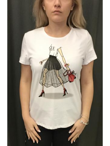 T-shirt - print girl