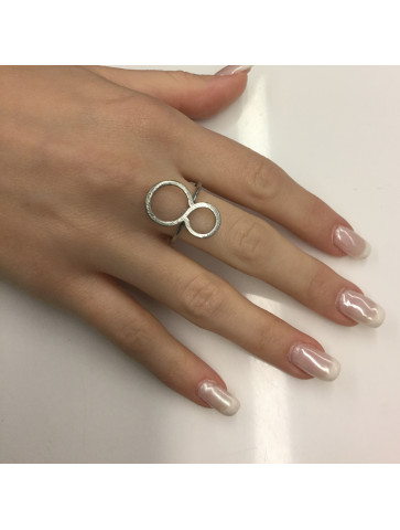 Ring - infinity shape