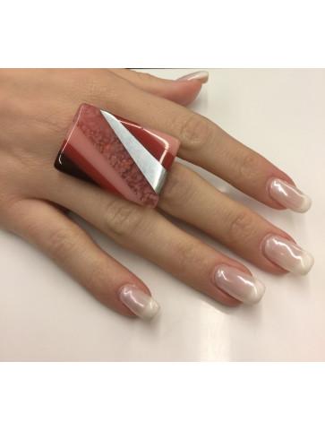 Ring - rectangular shape -...
