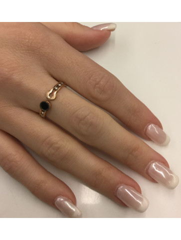 Ring - stainless steel -...