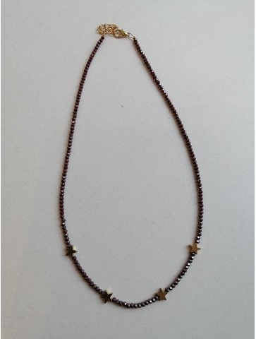 Short necklace - Stars and Stones