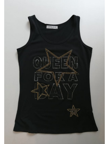T-shirt - print  with black...