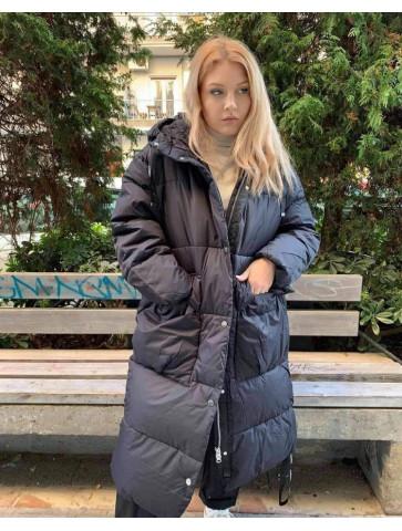 Impressive wide Jacket with hood