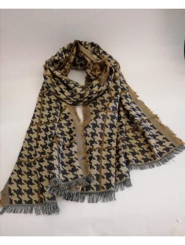 Beige/grey scarf