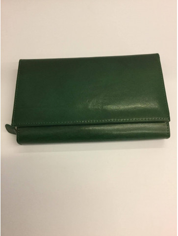 Large leather wallet-5 colors