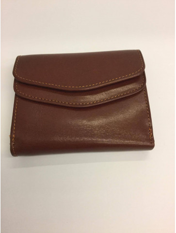 Small leather wallet-5 colors