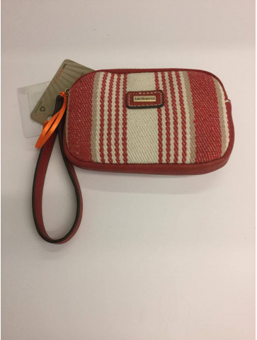 Toilet-bag-striped fabric