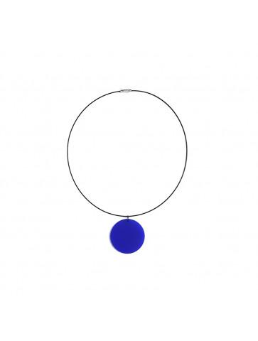 Κολιέ με Plexiglass Κύκλο