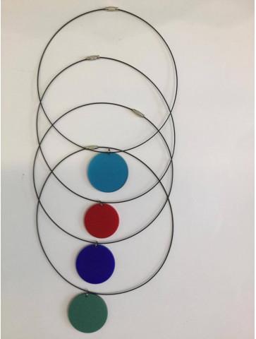 CIRCLE - Plexiglass Necklace