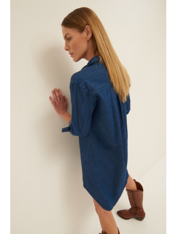 DENIM SHIRT / DRESS
