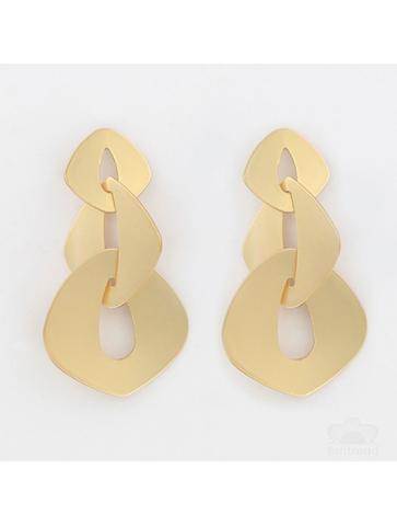 Flat chain Earrings