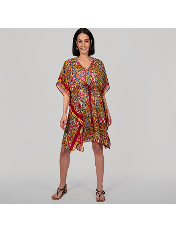 Short beach Tunic - Ethnic...