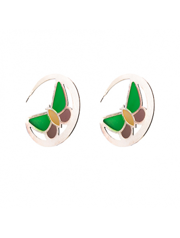 Round Earring - multicolor...