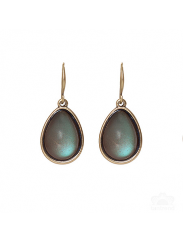 Tear drop shape earrings