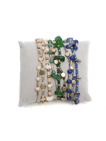 Three row bracelet -...