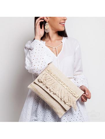 Loom weaved bag