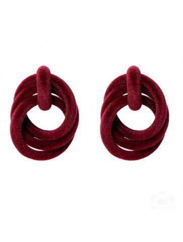 Retro style earrings
