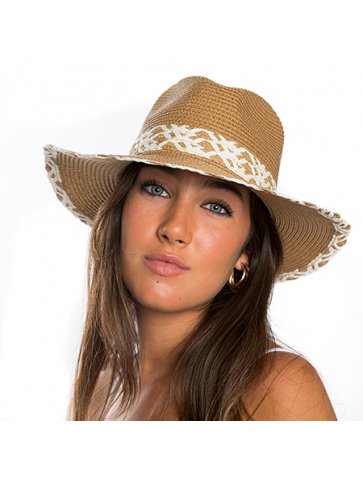 Adjustable Borsalino hat