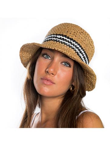 Bucket shaped adjustable hat