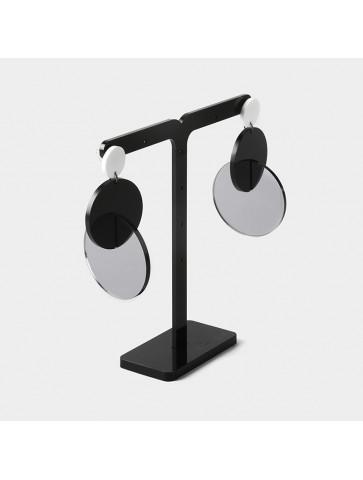 3D Circles-Plexiglass Earrings