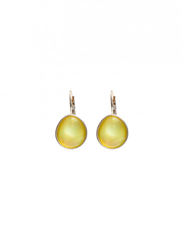Earrings with drop shaped...
