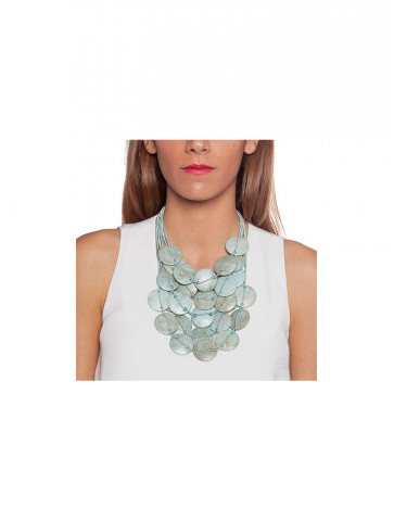 Multiline necklace with...