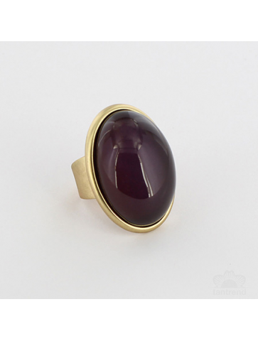 Adjustable oval Ring