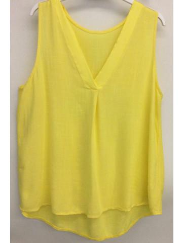 Sleeveless blouse -...