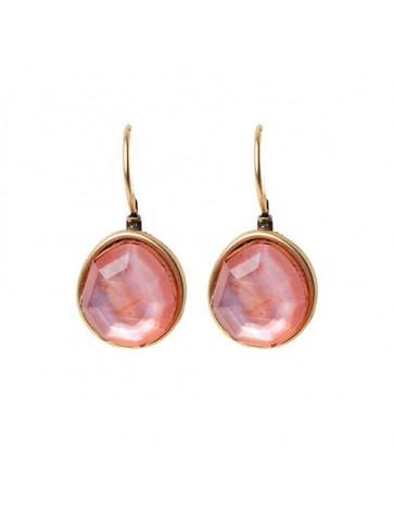 Earrings with tear-drop...