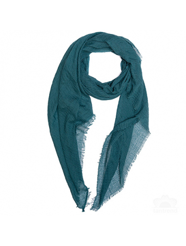 Plain colour crinkled foulard