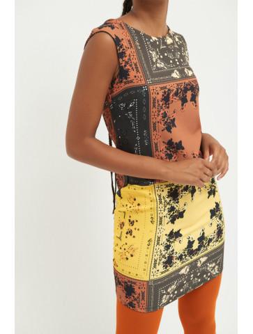 Bandana patterned Dress
