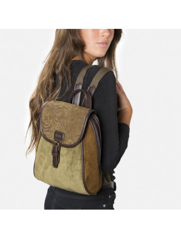 Backpack in Courderoy