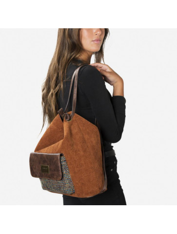 Courderoy Bag and backpack