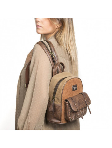 Backpack in courderoy with...
