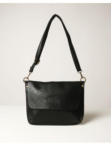 Μαύρη τσάντα ώμου/χιαστί με...