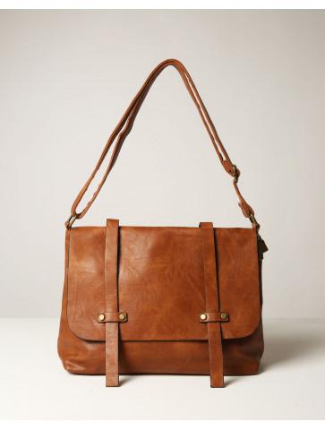 Postman bag - camel color...