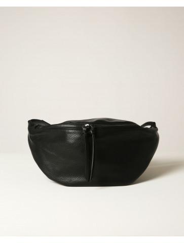 Μαύρη τσάντα μέσης σε σχήμα...