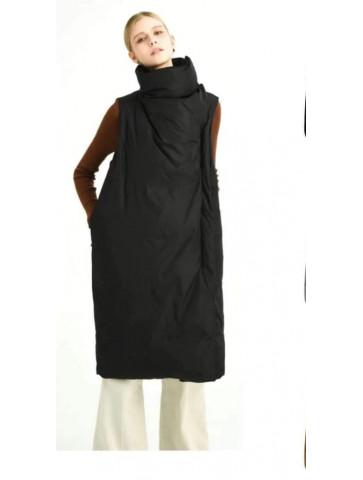 Sleeveless Long Jacket