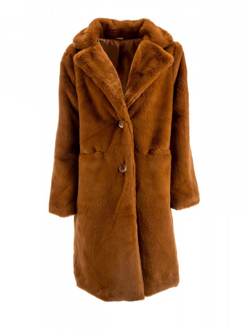 Coat - Soft synthetic Fur