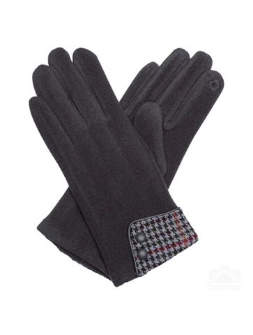 Gloves with cuff in English...
