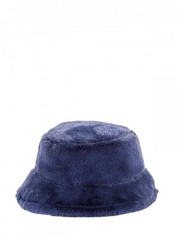 Fur Hat with round brim