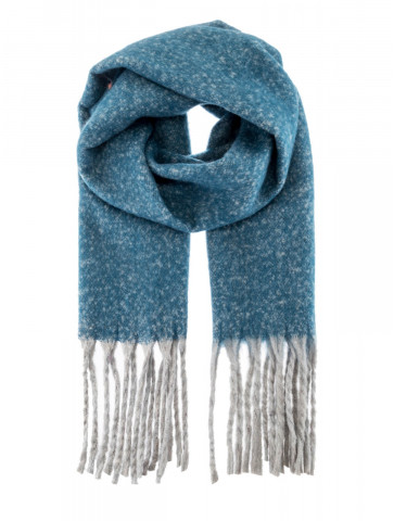 Warm texture scarf with...