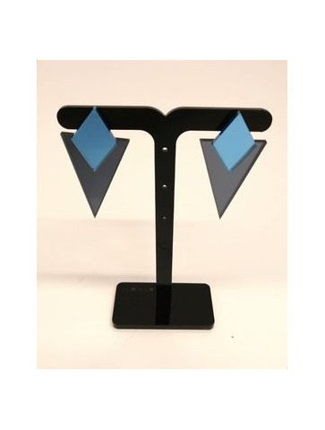 Geometric Plexiglass Earrings