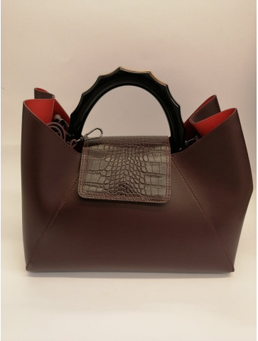 Burgundy Leather Bag