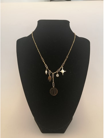 Stainless steel short Necklace
