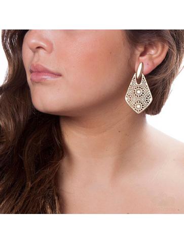 Knocker type filigree Earrings